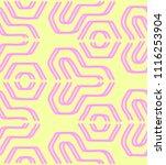 seamless pastel pattern of... | Shutterstock .eps vector #1116253904