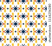 color islamic ornament pattern. ... | Shutterstock .eps vector #1116256280