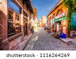 ayvalik  turkey   october 17 ... | Shutterstock . vector #1116264269