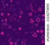 memphis background.  modern...   Shutterstock .eps vector #1116273854