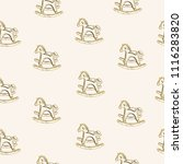vector seamless pattern. pen... | Shutterstock .eps vector #1116283820