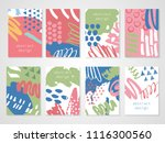 abstract colorful backgrounds... | Shutterstock .eps vector #1116300560