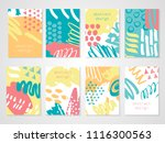 abstract colorful backgrounds... | Shutterstock .eps vector #1116300563