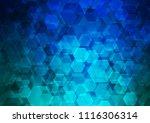 light blue vector low poly...   Shutterstock .eps vector #1116306314