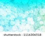 light blue  green vector...   Shutterstock .eps vector #1116306518