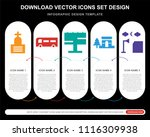 5 vector icons such as cemetery ...   Shutterstock .eps vector #1116309938