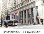 chicago  usa   june 06  2018 ... | Shutterstock . vector #1116310154