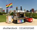 chicago  usa   june 05  2018 ... | Shutterstock . vector #1116310160