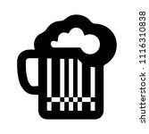 beer sign icon. alcohol drink... | Shutterstock .eps vector #1116310838