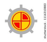 target aim icon  vector target...   Shutterstock .eps vector #1116310883