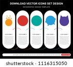 5 vector icons such as dubious  ...   Shutterstock .eps vector #1116315050