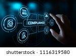 compliance rules law regulation ... | Shutterstock . vector #1116319580