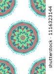 boho ethnic seamless pattern....   Shutterstock .eps vector #1116323144