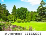 A Lovely English Garden In Ful...