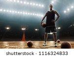 young african american... | Shutterstock . vector #1116324833
