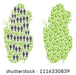 people population and... | Shutterstock .eps vector #1116330839