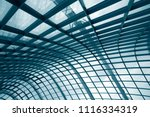 curvilinear grid structure.... | Shutterstock . vector #1116334319