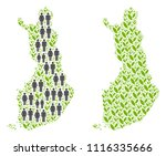people population and grass... | Shutterstock .eps vector #1116335666