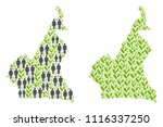 people population and... | Shutterstock .eps vector #1116337250