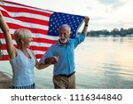 shot of a happy senior couple... | Shutterstock . vector #1116344840