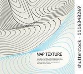 topographical vector background ... | Shutterstock .eps vector #1116348269