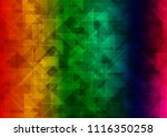 dark multicolor  rainbow vector ...   Shutterstock .eps vector #1116350258