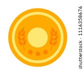 award icon. winner prize  ... | Shutterstock .eps vector #1116358676