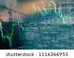 economic growth of construction ... | Shutterstock . vector #1116366953