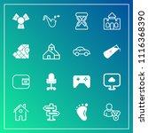 modern  simple vector icon set...   Shutterstock .eps vector #1116368390