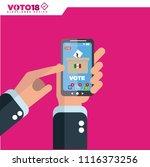 mexico elections  elecciones...   Shutterstock .eps vector #1116373256