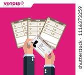 mexico elections  elecciones...   Shutterstock .eps vector #1116373259