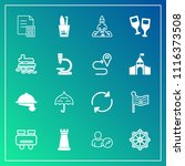 modern  simple vector icon set...   Shutterstock .eps vector #1116373508