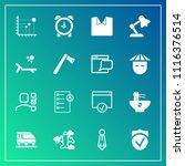 modern  simple vector icon set... | Shutterstock .eps vector #1116376514