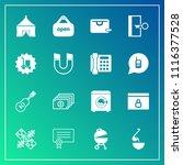 modern  simple vector icon set... | Shutterstock .eps vector #1116377528