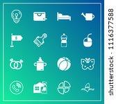 modern  simple vector icon set... | Shutterstock .eps vector #1116377588