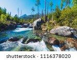 Wild River In Slovakia  Tatras...