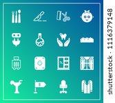 modern  simple vector icon set... | Shutterstock .eps vector #1116379148