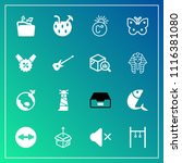 modern  simple vector icon set... | Shutterstock .eps vector #1116381080