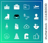 modern  simple vector icon set... | Shutterstock .eps vector #1116383030