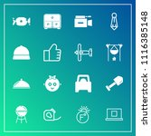 modern  simple vector icon set... | Shutterstock .eps vector #1116385148