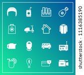 modern  simple vector icon set... | Shutterstock .eps vector #1116385190