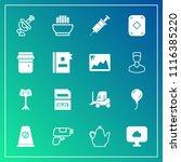 modern  simple vector icon set... | Shutterstock .eps vector #1116385220