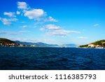 port view at trogir in croatia  ...   Shutterstock . vector #1116385793
