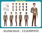 people character business set.... | Shutterstock .eps vector #1116389453
