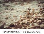Simple Small Pile Of Rocks On ...