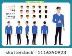 people character business set.... | Shutterstock .eps vector #1116390923