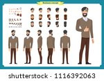people character business set.... | Shutterstock .eps vector #1116392063