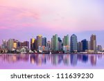 Lovely San Diego Skyline At...
