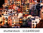 close up on the houses built... | Shutterstock . vector #1116400160