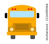 vector bus illustration  ... | Shutterstock .eps vector #1116400466